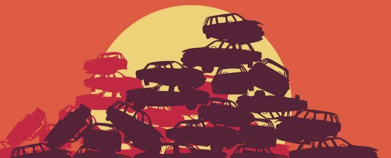 """Samochody """"martwe dusze"""" są wciąż zarejestrowane w bazie CEPiK"""