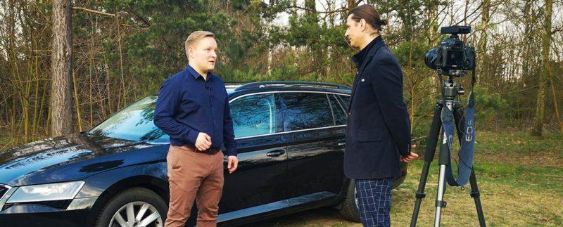 Marcin Marat opowiada o zakupie Skody Superb w Master1