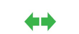 Kierunkowskazy - ikona nadesce rozdzielczej samochodu