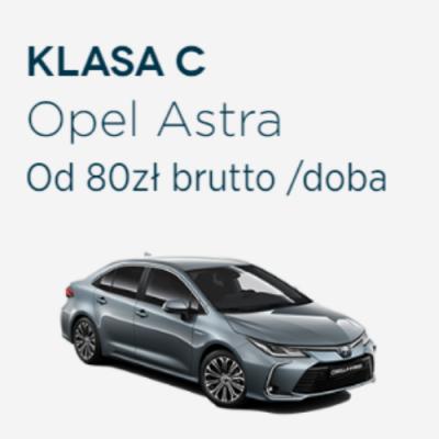 Klasa C - Opel Astra