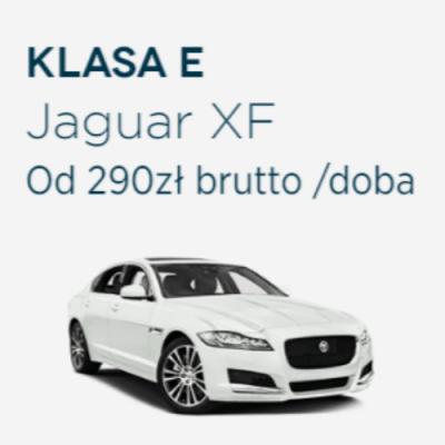 Klasa E - Jaguar XF