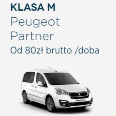 Klasa M - Peugeot Partner