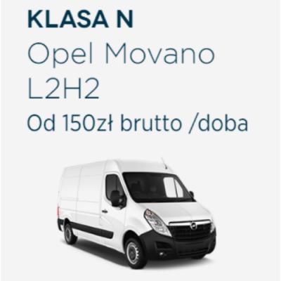 Klasa N - Opel Movano