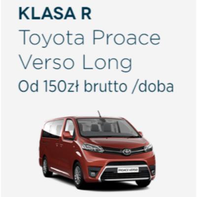 Klasa R - Toyota Proace